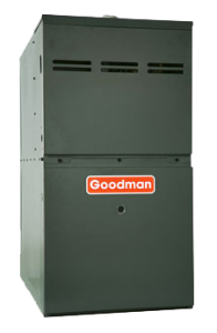 Goodman Mid-Efficiency Gas Furnaces.